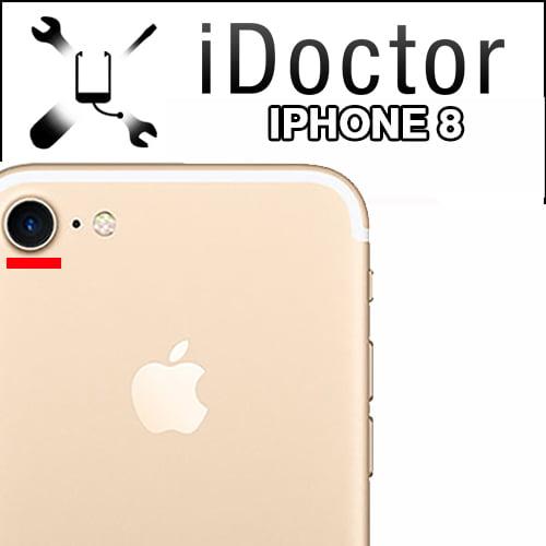Servizio di riparazione fotocamera posteriore iPhone 8